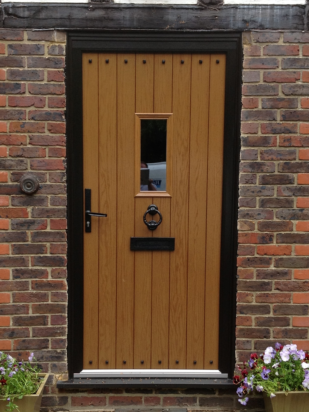 Composite front doors birmingham solihull west for Composite front doors