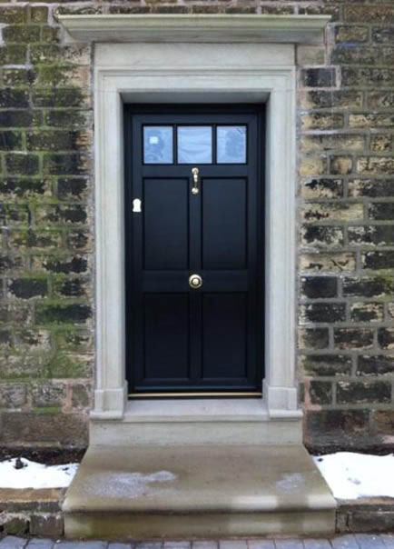 Composite front doors birmingham solihull west for Traditional front doors