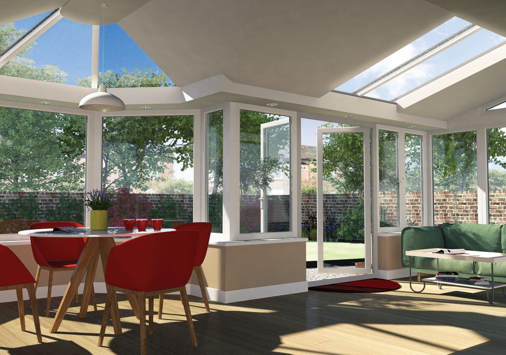 Conservatories orangeries windows installers framemaster for Amenagement interieur veranda